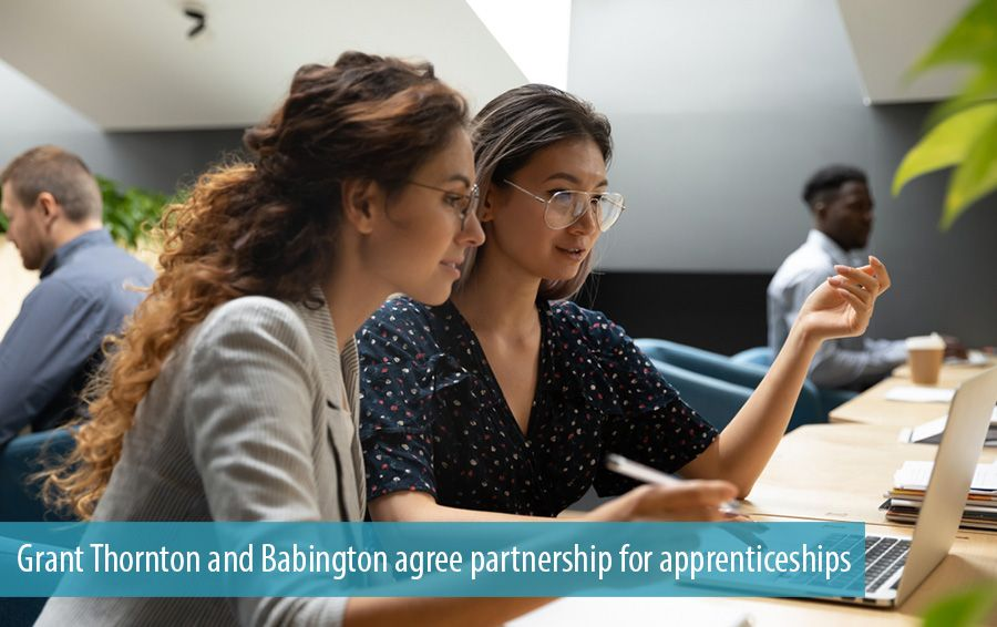 Grant Thornton and Babington agree partnership for apprenticeships