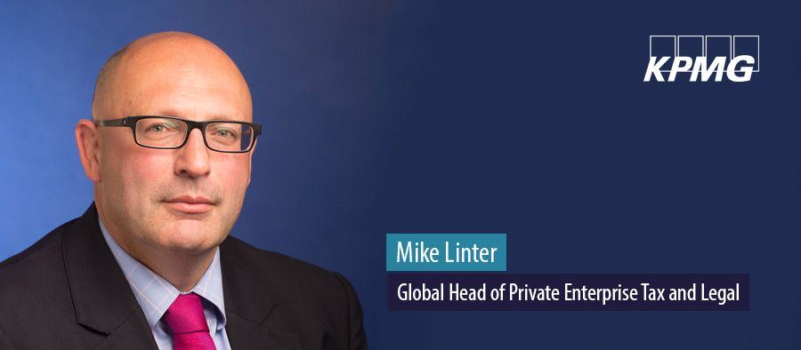 Mike Linter, Global Head of Private Enterprise Tax and Legal, KPMG