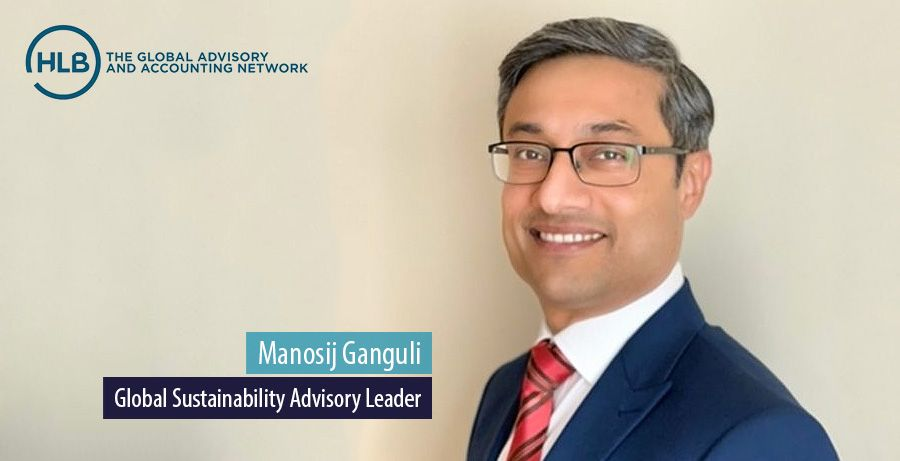 Manosij Ganguli, Global Sustainability Advisory Leader, HLB