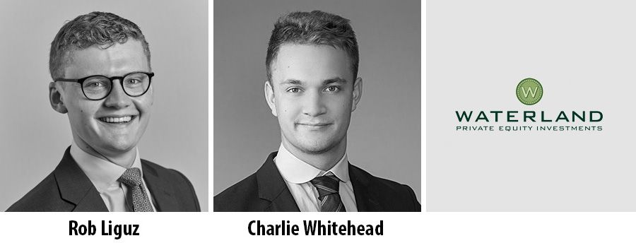 Charlie Whitehead and Rob Liguz, Waterland Private Equity