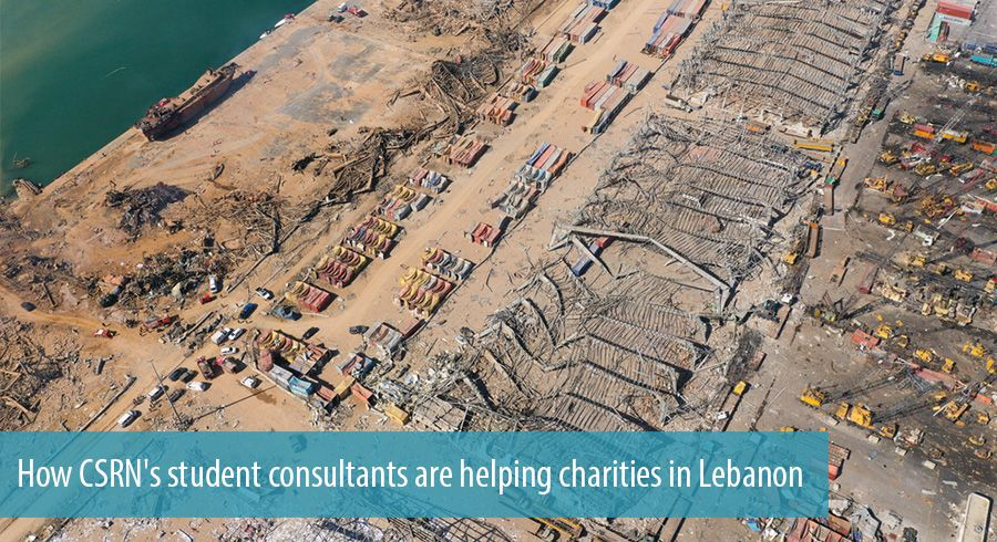 How CSRN's student consultants are helping charities in Lebanon