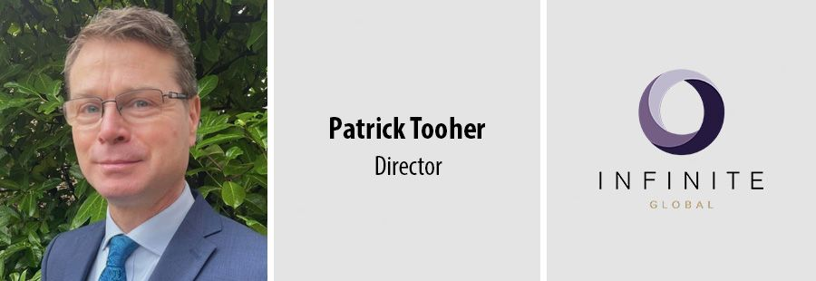 Patrick Tooher joins Infinite Global as Director