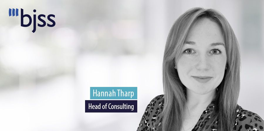 Hannah Tharp, Head of Consulting, BJSS