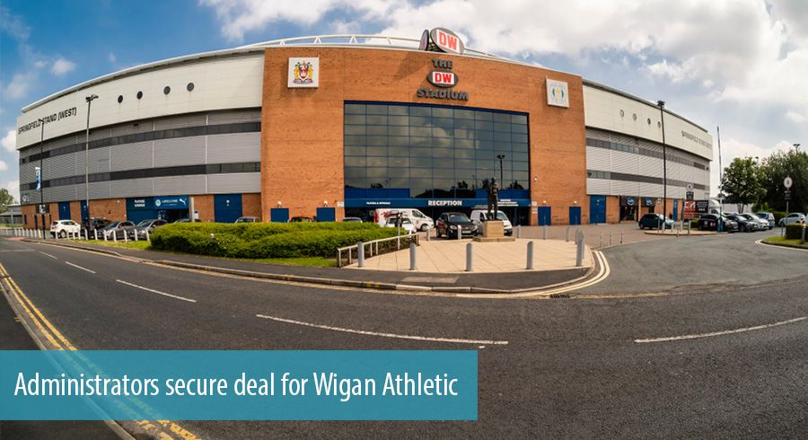 Administrators secure deal for Wigan Athletic