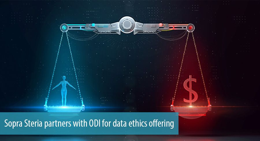 Sopra Steria partners with ODI for data ethics offering
