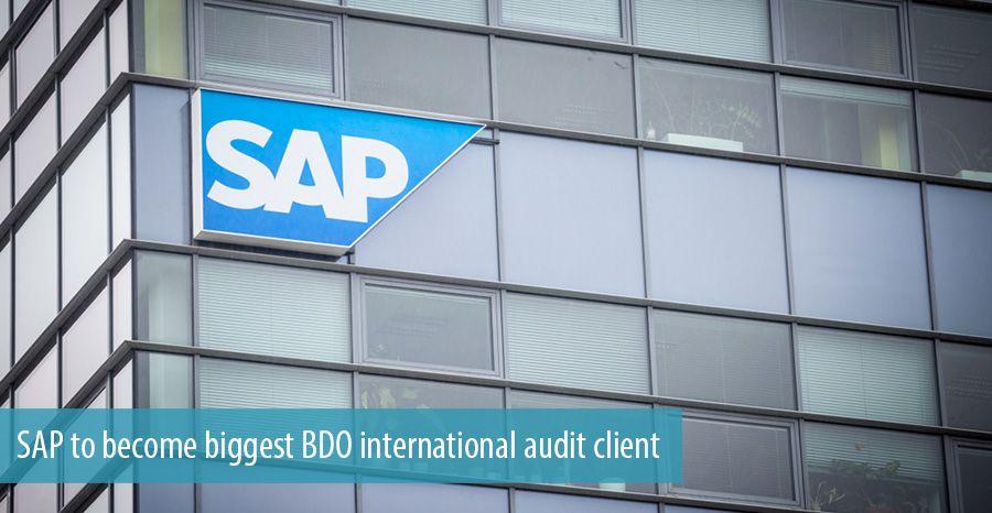 SAP to become biggest BDO international audit client