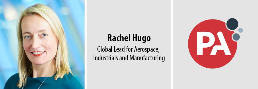 Rachel Hugo leads PA's Aerospace, Industrials & Manufacturing arm