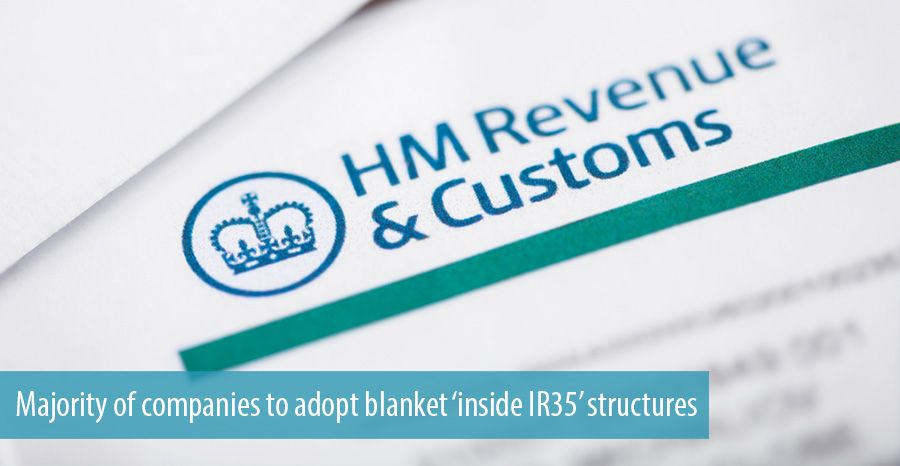 Majority of companies to adopt blanket 'inside IR35' structures