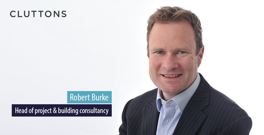 Robert Burke to lead Cluttons project management consultancy