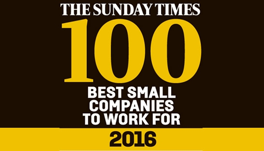 20 advisory firms in Sunday Times Best Companies to Work For