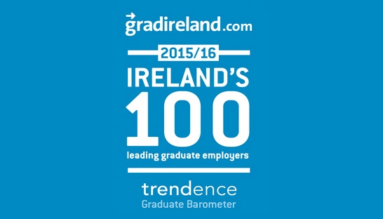 10 firms in top 100 leading graduate employers Ireland