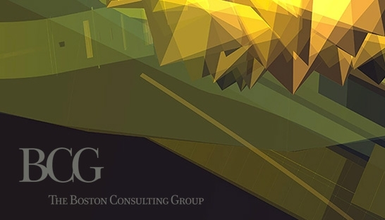 Boston Consulting Group Marketing embraces Parametric Art