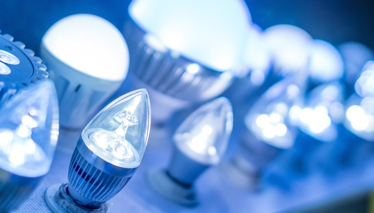 LED eating market share in 110 billion Lighting market