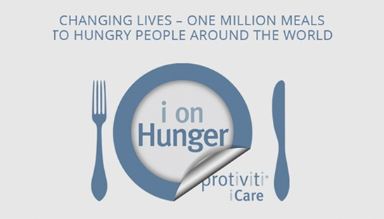 Protiviti wins CSR award for its i on Hunger programme