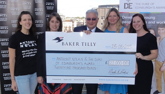 Baker Tilly bike rides the UK to raise 21,000 for charity