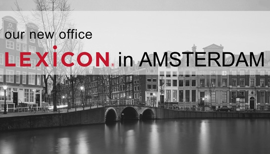 Lexicon Branding opens office in Amsterdam, 3rd globally