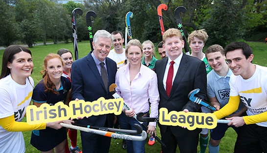 Advisory firm EY sponsors the Irish Hockey League