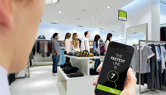 New service makes queuing while shopping less frustrating
