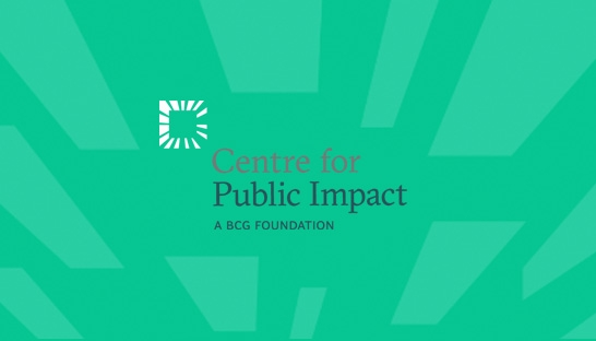 BCG launches not-for-profit Centre for Public Impact