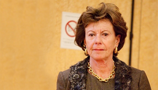 Neelie Kroes appointed head of advisory board at Uber