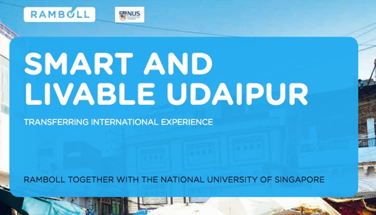 Ramboll supports Indian city Udaipur through smart transformation