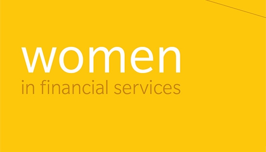 Financial services still run by old boys, as women step out to care