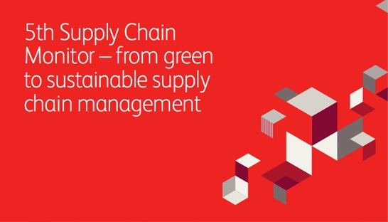 Investing in supply chain sustainability remains a strategic priority