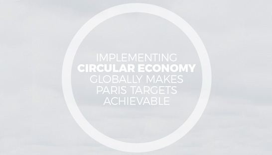 Circular economy able to add significantly to global climate targets