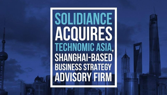 Solidiance buys China-based management consultancy Technomic Asia