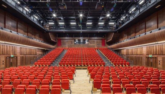Arup designs acoustics for new Sir Stanley Clarke Auditorium
