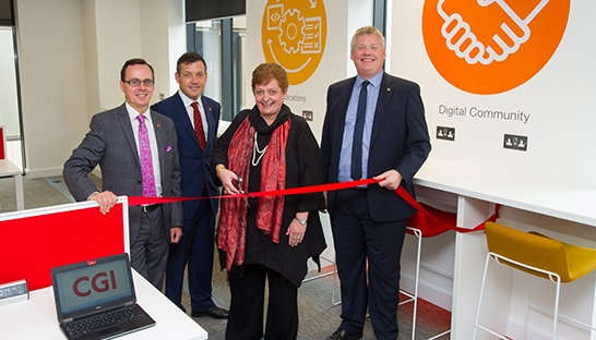 CGI opens office in Glasgow's technology and innovation zone