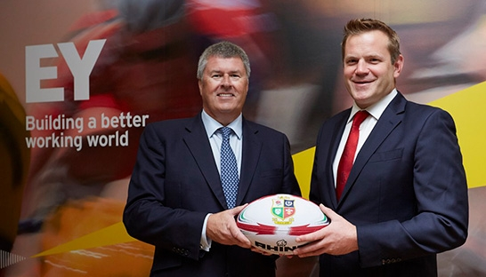 EY sponsors The British & Irish Lions 2017 tour of New Zealand