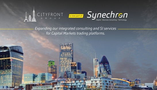 Synechron acquires capital markets consultancy Cityfront Group