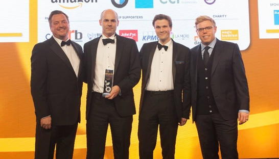 Consulting firm Gate One wins Amazon Growing Business Award