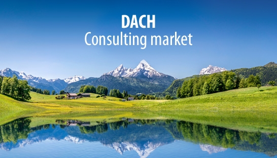 Consulting markets of Germany, Switzerland & Austria grow to €8.7 billion