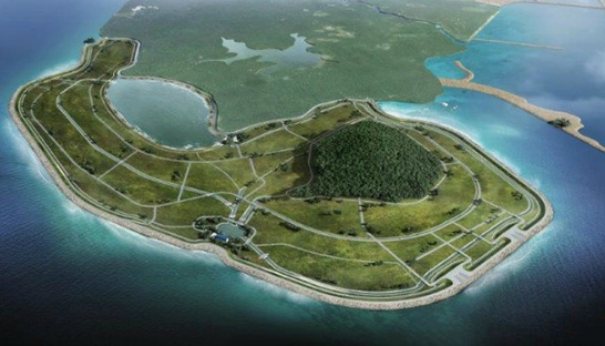 Singapore picks Royal HaskoningDHV polder design for land addition