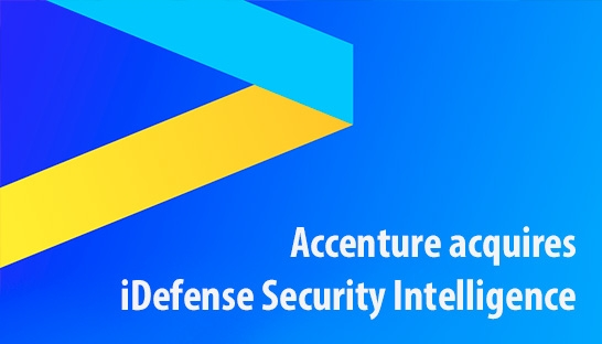 Accenture acquires iDefense Security Intelligence from VeriSig