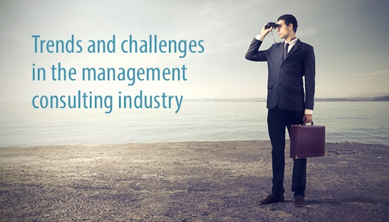 Trends and challenges in the management consulting industry