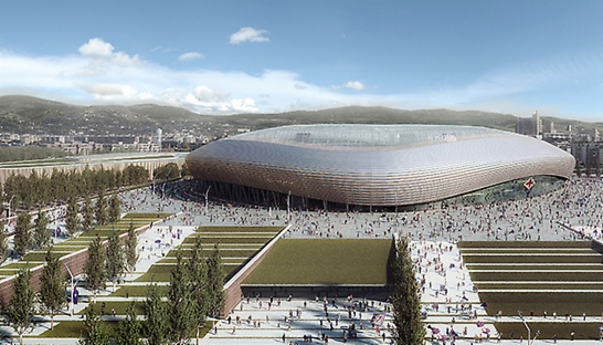 Arup redesigns Stadio Artemio Franchi of Italian football club Fiorentina
