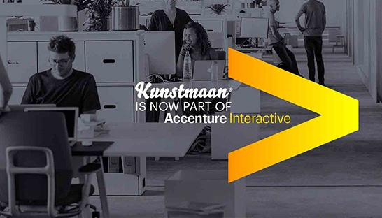 Accenture acquires Belgium-based design agency Kunstmaan