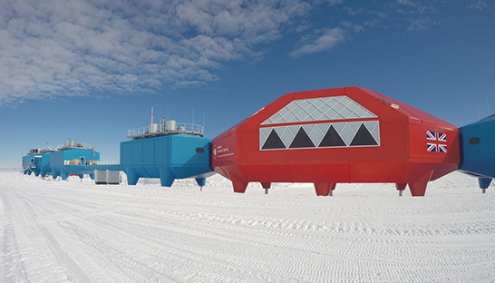 Ramboll complete successful Halley VI research station move