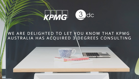 KPMG buys 3 Degrees Consulting, adds 15 consultants