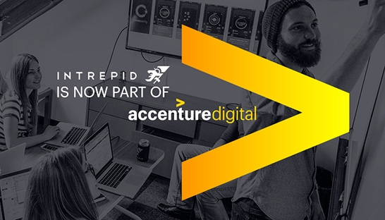 Accenture acquires digital product development firm intrepid for Product design consultancy uk