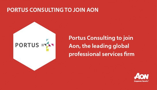 Aon buys UK employee benefits business Portus Consulting