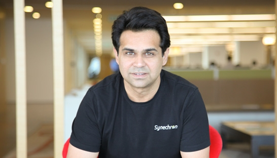 Interview with Faisal Husain, CEO and Co-Founder of Synechron