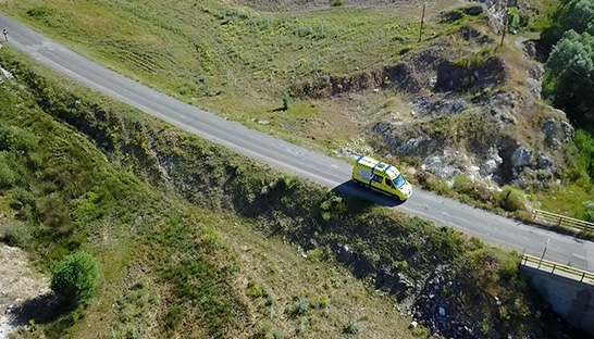 QVARTZ drives ambulance from Denmark to Mongolia for charity