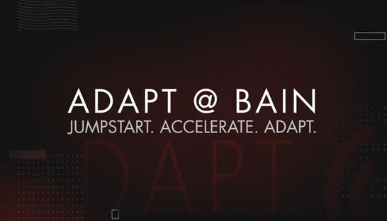 Bain launches ADAPT, combines strategy, digital and tech offerings
