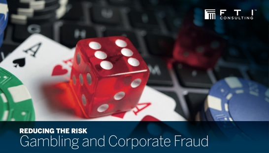 Reducing the risk of fraud by employees with gambling habits