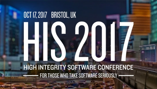 Professional services firms support High Integrity Software Conference