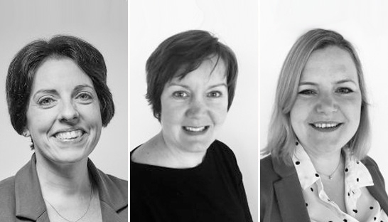 Sarah Shay, Jane Wilson and Harriet Cowie join Yorkshire-based Alpaca